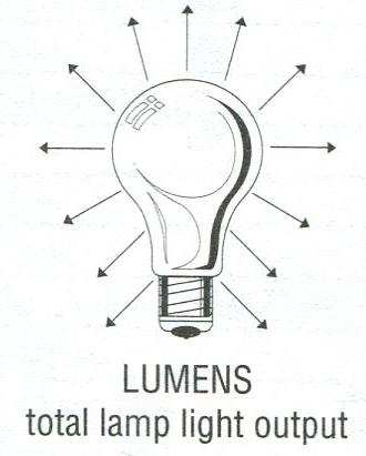 light bulb with lumens