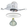 "new construction low voltage 5"" recessed lighting kit"