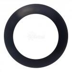 Sylvania Ultra LED Disc Light Black Trim Ring