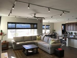 Living Room Satin Square